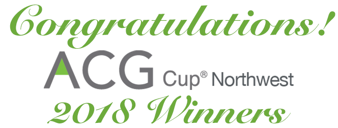 Congratulations to the ACG Cup Northwest 2018 Winners